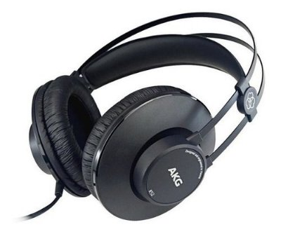 Fone de ouvido AKG K52 Over Ear