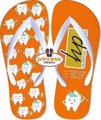 sandalias personalizadas para eventos HP odontologia ortodontia