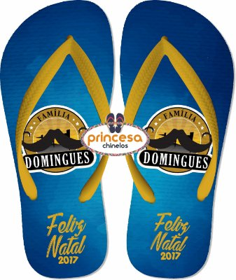 sandalias personalizadas para eventos Natal domingues