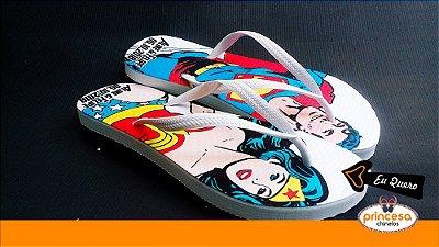 chinelos personalizados para casamento elo7 - kit com 55 pares linha Premium