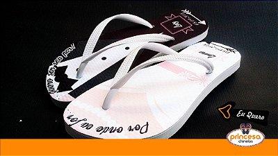 chinelos personalizados casamento sp - kit com 150 pares linha Premium