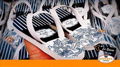 sandalias de lembrança de casamento - kit com 110 pares linha Premium