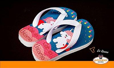 chinelos personalizados porto alegre - kit com 200 pares Linha Econômica