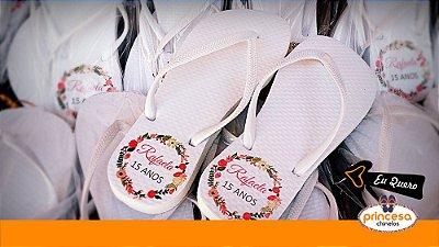 sandalias personalizadas para casamento df - kit com 400 pares Linha Econômica