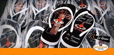 sandalias personalizadas curitiba - kit com 600 pares Linha Econômica