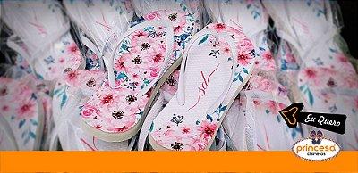 sandalias personalizadas casamento recife - kit com 650 pares linha Premium
