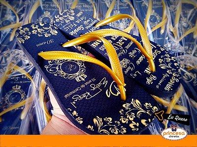 chinelos personalizados para aniversario campinas