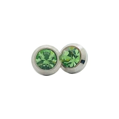 Piercing ponto de luz para chinelos (verde) - Unidade