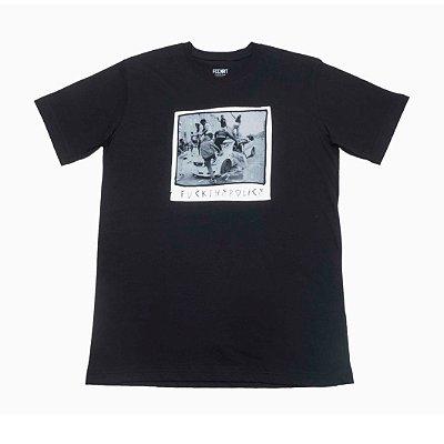 Camiseta Fuck The Police Preta