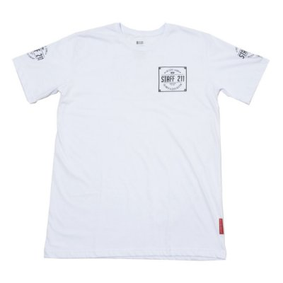 Camiseta Staff 211 Branca