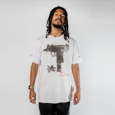 Camiseta Uzi Gang Branca