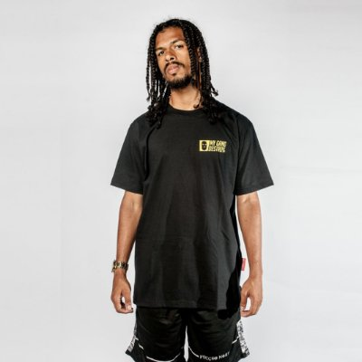 Camiseta Respect Rio de Janeiro Preta