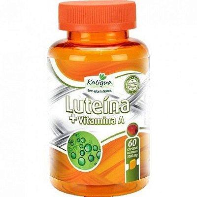 Luteína - Com vitamina A- 60 Cáp - 1000 mg