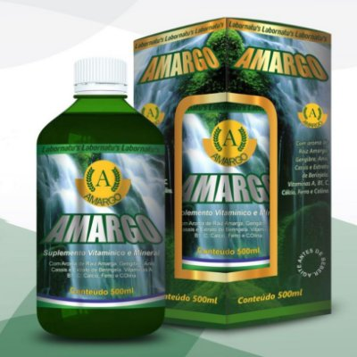 Amargo Digestivo - 500 ml (Vida Saúde)