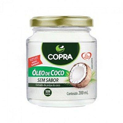 Óleo de Coco Sem Sabor - 200 ml