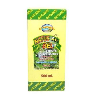 NATUS BEL - ERVAS PARA DIABÉTICO - 500 ml