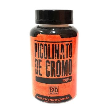 Picolinato de Cromo - 120 Cáp 250 mg