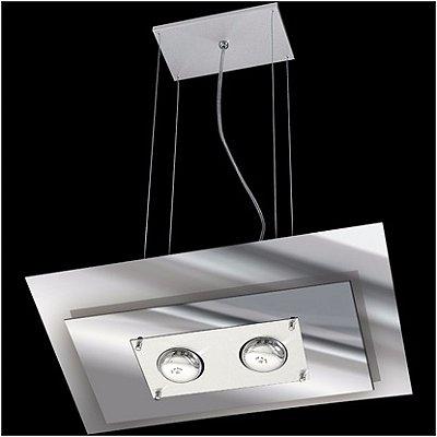 Pendente em Aluminio e Vidro Pantoja e Carmona 140.1