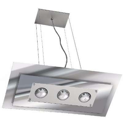 Pendente em Aluminio e Vidro Pantoja e Carmona 141.1