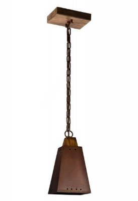 Pendente Napoli 1 lamp caneco pequeno (oxidado) Madelustre 2296