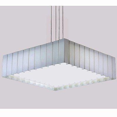 Pendente Rafita Branco 57X57X17cm Stilo Clean 22.193