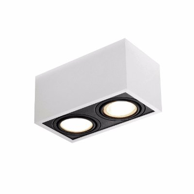 PLAFON BOX 22x12cm 2XPAR-16 New Line IN40122