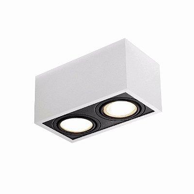PLAFON BOX 30x15cm 2XAR-111 New Line IN41152