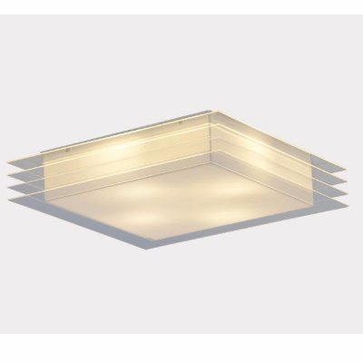 Plafon Cisne Cristal 58x58x11cm Stilo Clean 22.120