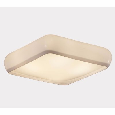 Plafon Kaoni Quadrado Branco 40X40x10cm Stilo Clean 22.310