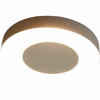 Plafon Redondo Iluminação indireta em Aluminio Piuluce 6227