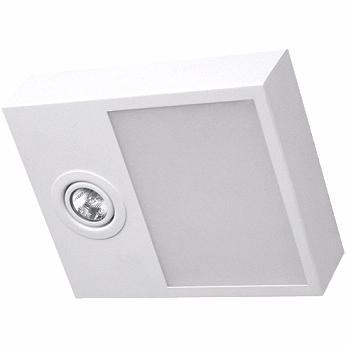Plafon Sobrepor Aluminio / Vidro Piuluce 5702