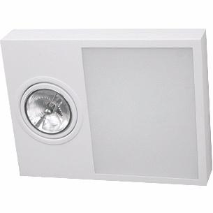 Plafon Sobrepor Aluminio / Vidro Piuluce 5711