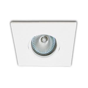 Spot para Embutir FACE PLANA Orientável Antiofuscante para Lâmpada Dicroica INTERLIGHT IL0076