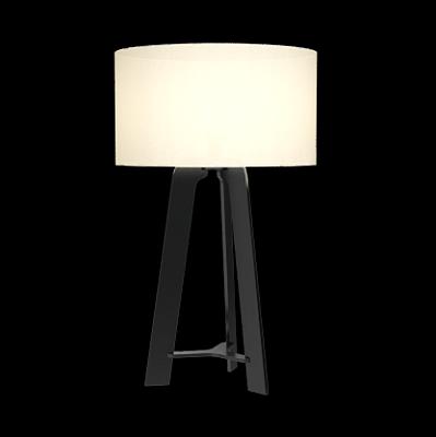 Abajur tripe Cupula Cilindrica Algodão 40X65cm Accord 7024S
