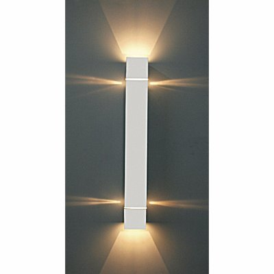 Arandela Aluminio e Acrilico Interna s/ Vedação Piuluce 5770