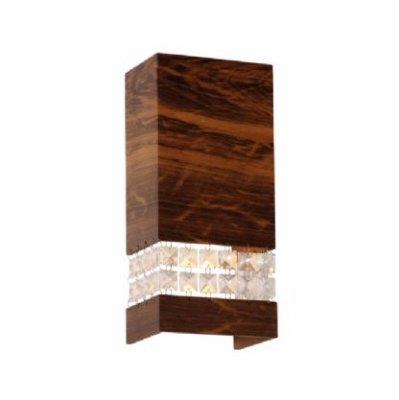 Arandela C/ Cristais 25X12X8,5cm Accord 4048C