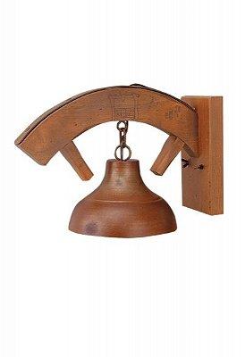 Arandela Estância 1 lâmpada (oxidado) Madelustre 420