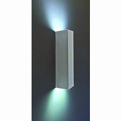 Arandela Retangular Aluminio Piuluce 3068/A