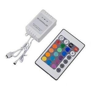 Controladora RGB com Controle Remoto