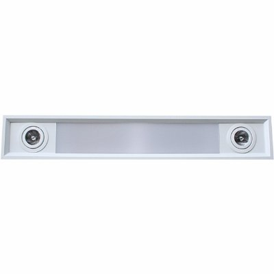 Embutido de Teto Aluminio Acrilico Piuluce 5814