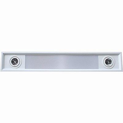 Embutido de Teto Aluminio Acrilico Piuluce 5817