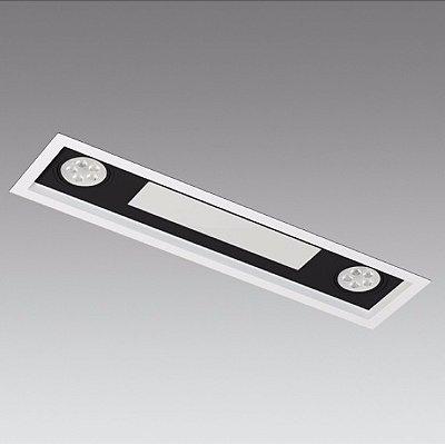 Embutido Piazza 64 cm -  Mister Led 8812/22