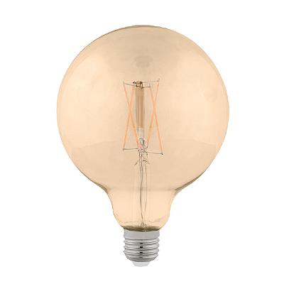 Lâmpada Bulbo Filamento 2W Baloon G-125 Vintage Stellatech STH6337/24