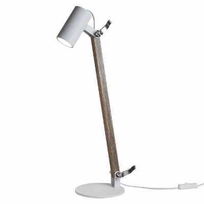 Luminária de mesa Lisse Madeira 1 Mini Dicroica -  New Line 223