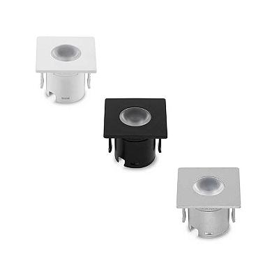 Luminária LED Mini Embutido para Móveis facho direcionado (30º) Stellatech STH6900/30 STH6901/30
