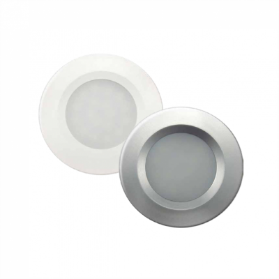 Luminária LED Mini Embutido para Móveis Prata Stellatech STH4910/30 STH4920/30