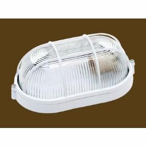 Luminária Sobrepor Tartaruga 210 mm IP-44Com Grade / Vidro Transparente Biancoluce FC3