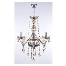 LUSTRE MARIA THEREZA CHAMPAGNE 3 BRAÇOS ARQUITETIZZE LC1410-3.000