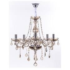 LUSTRE MARIA THEREZA CHAMPAGNE 5 BRAÇOS ARQUITETIZZE LC1410-5.000