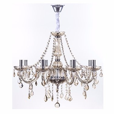 LUSTRE MARIA THEREZA CHAMPAGNE 8 BRAÇOS ARQUITETIZZE LC1410-8.000